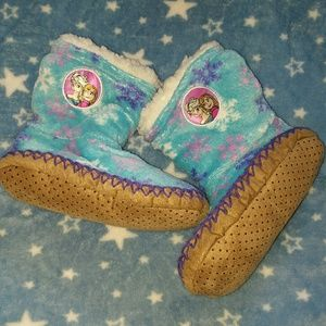 Girls frozen booties